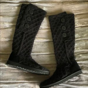 UGG Lattice Cardy Knit Boot